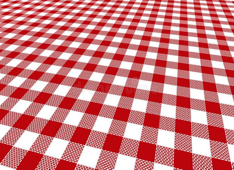 tablecloth vektor illustrationer