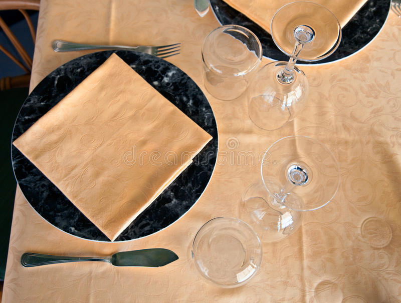 Download Tablecloth from above stock image. Image of plate, tablecloth - 13344481