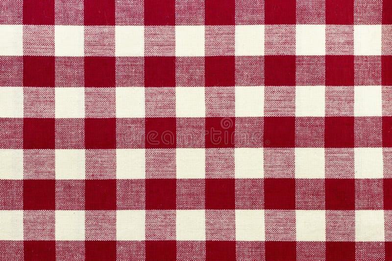 Tablecloth Checkered imagens de stock royalty free