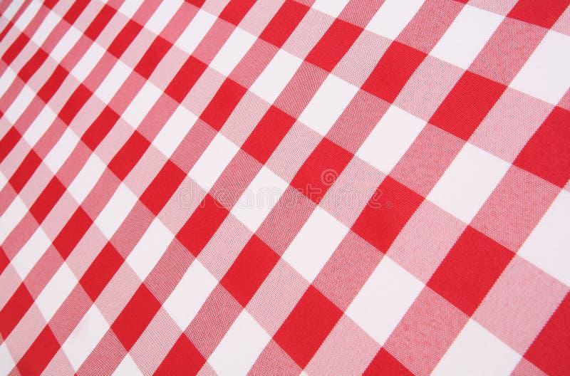 Tablecloth da manta foto de stock