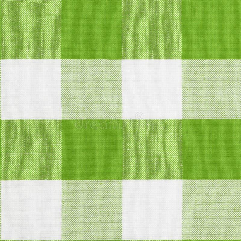 tablecloth för grön modell för gingham seamless royaltyfri foto