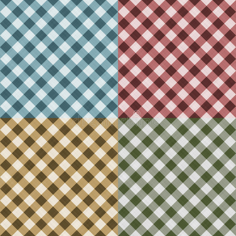 Download Tablecloth Gingham Seamless Pattern Stock Illustration - Image: 13138122