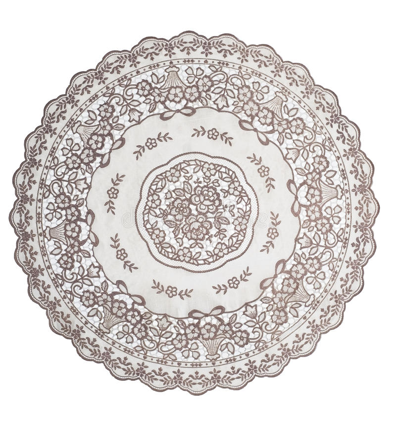 Tablecloth para a mesa redonda