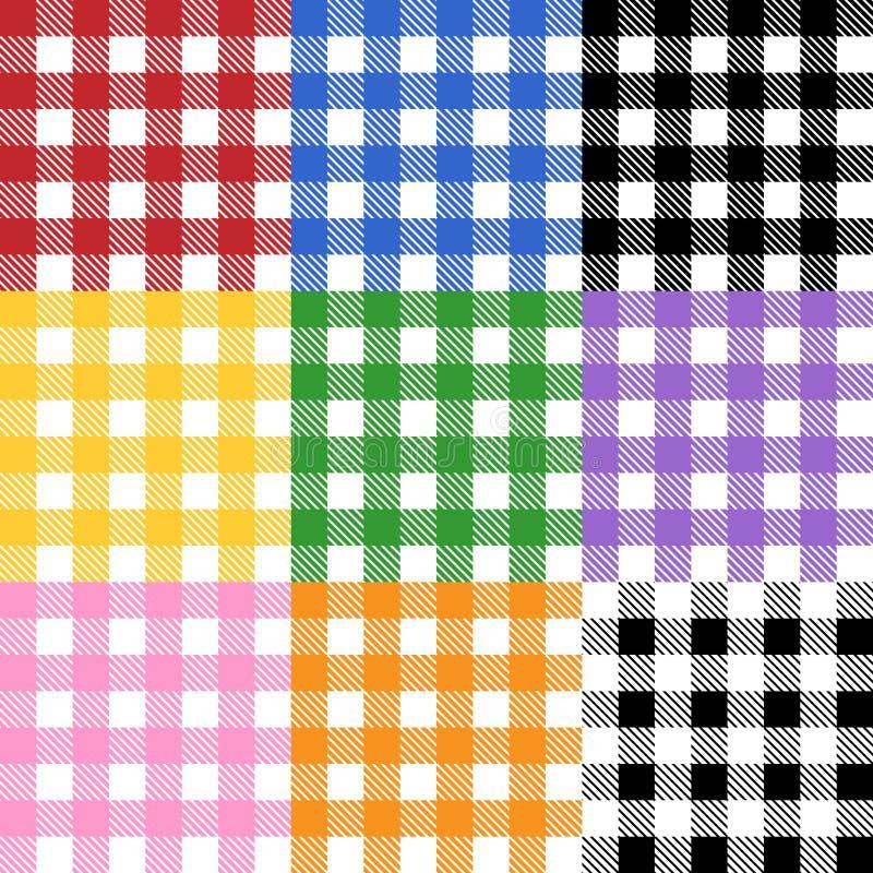 Tablecloth Pattern vector illustration