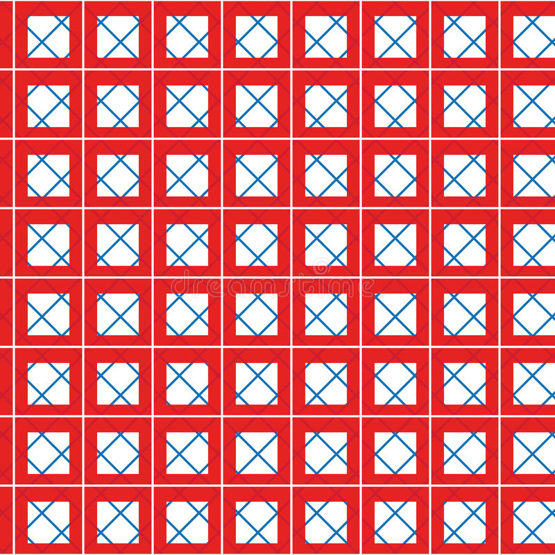 Tablecloth Seamless Royalty Free Stock Photo