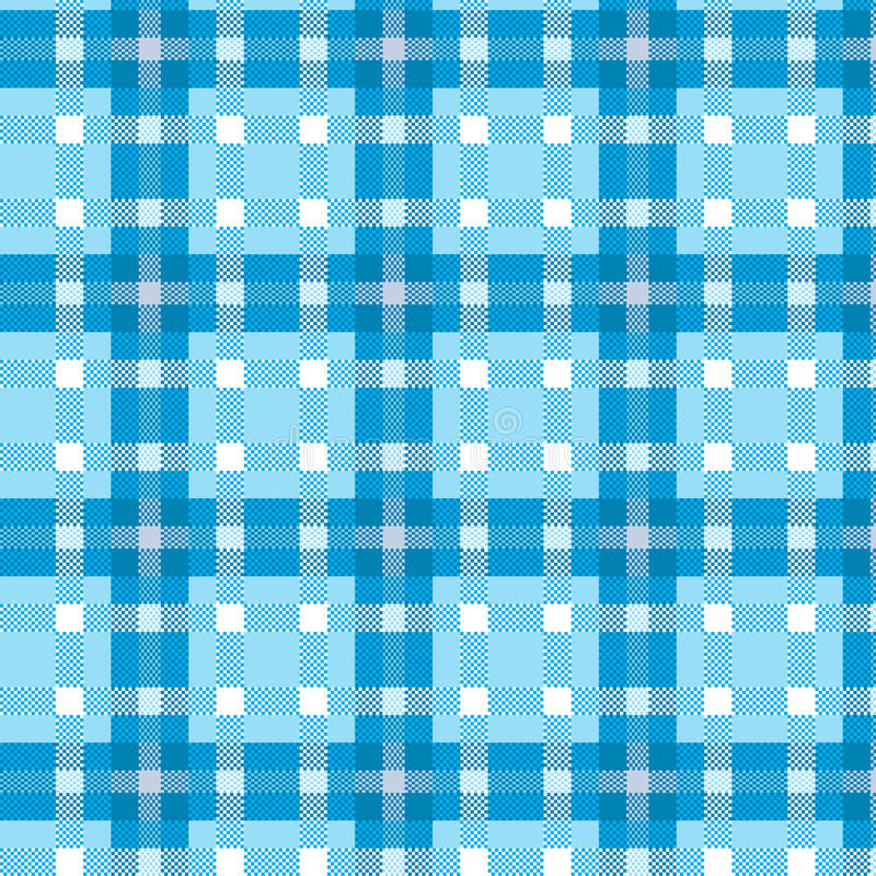 Tablecloth Tartan Pattern Royalty Free Stock Image