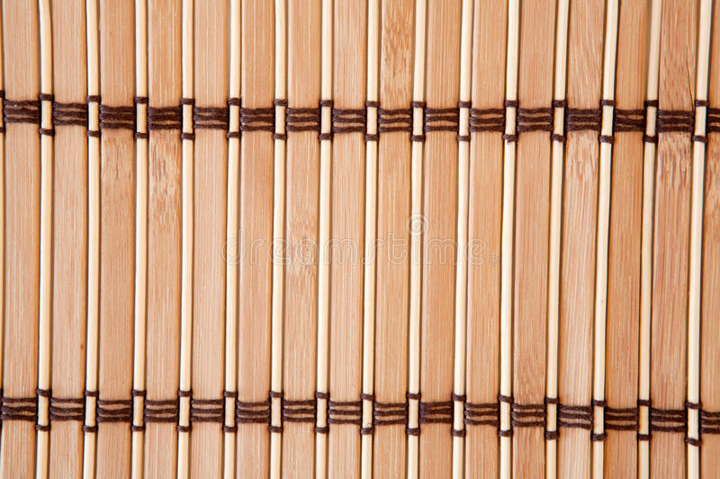 Download Tablecloth Vertical Bamboo Slats Stock Photo - Image: 11044544