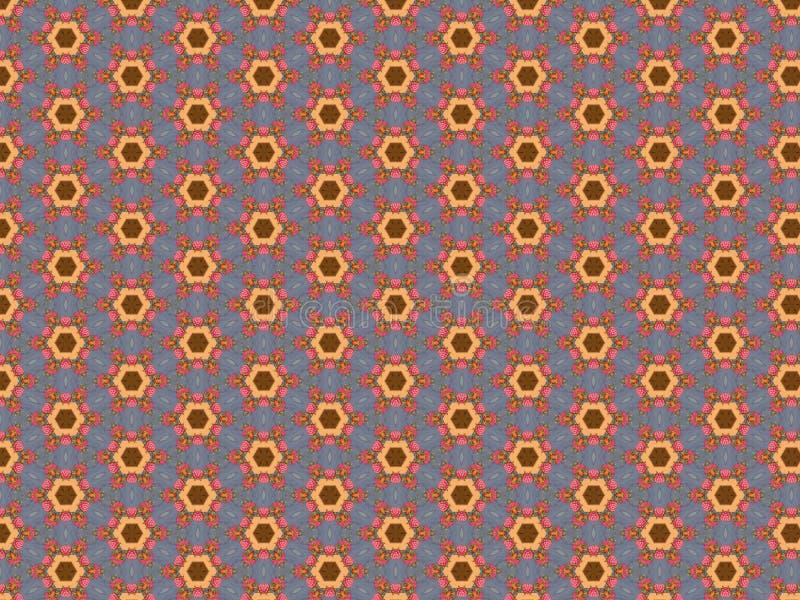 Tablecloth z jagodami menchie barwi w sekcji błękitny kolor ilustracja wektor