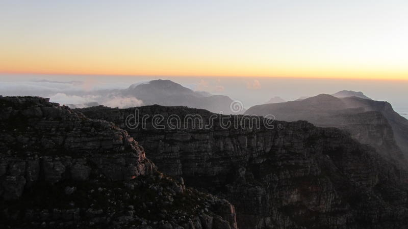 Tablemountain photographie stock