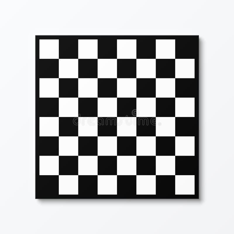 Tablero de ajedrez ilustración del vector