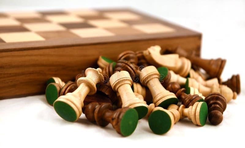 Tablero de ajedrez imagenes de archivo