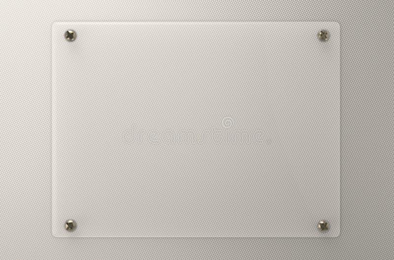 Tablero de cristal o tablero de acrílico fotos de archivo