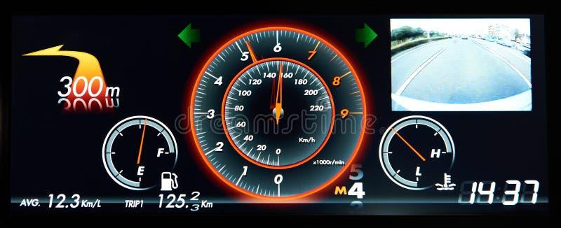 Tablero de instrumentos digital del coche