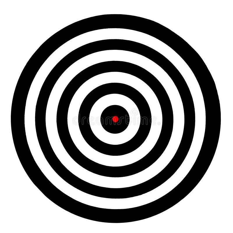 Tablero de la blanco ilustración del vector