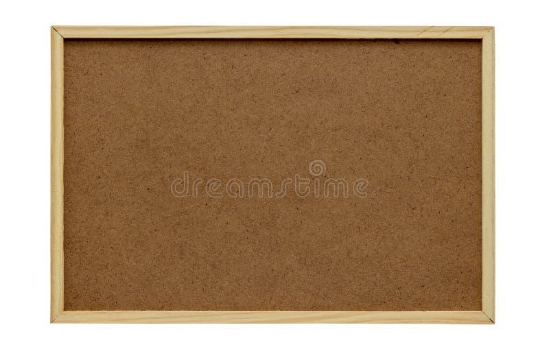 Tablero de madera vacío aislado en el fondo blanco backgroun del tablero fotos de archivo libres de regalías