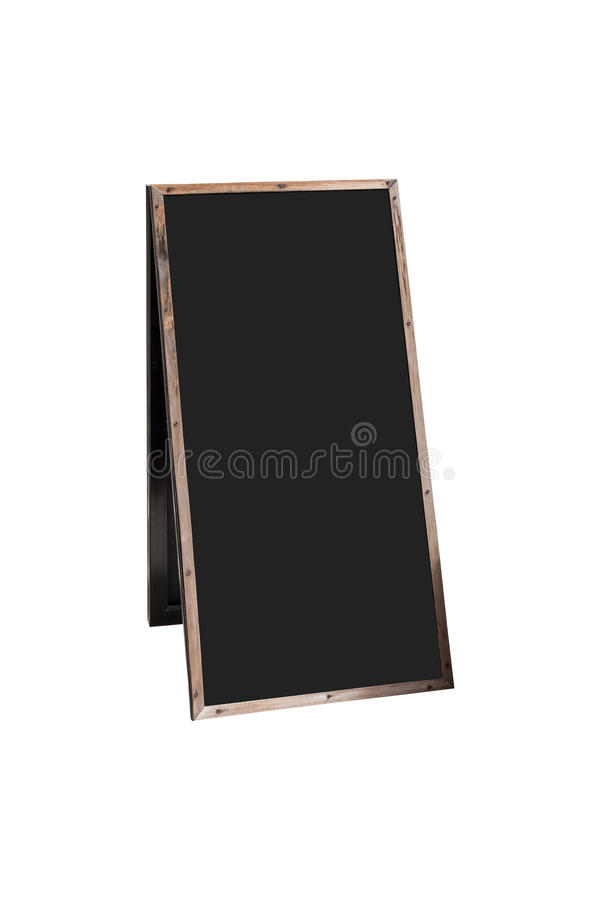 Tablero de madera vacío del menú fotos de archivo libres de regalías