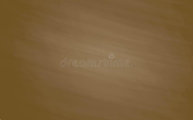 Tablero de tiza de Brown para el diseño ilustración del vector