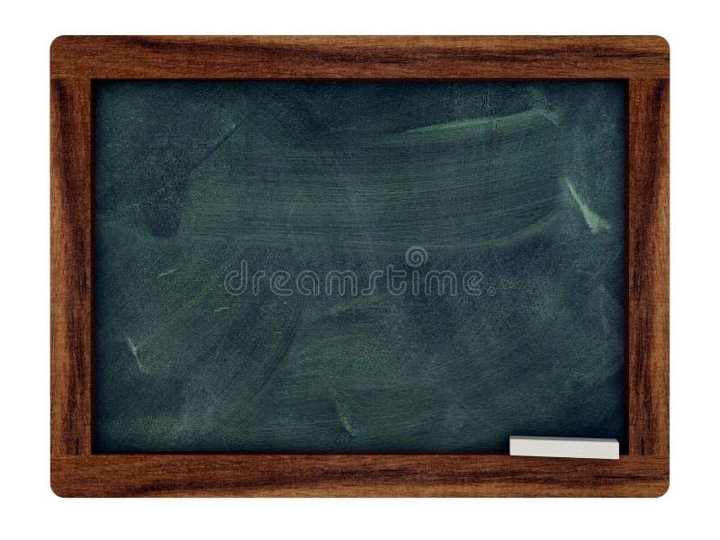 Tablero negro con un marco de madera del rey fotografía de archivo