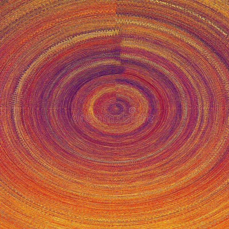 Tablero pintado de madera Ilustraciones gruesas de la pintura Arte contemporáneo Fondo de los movimientos de la pintura del vinta libre illustration