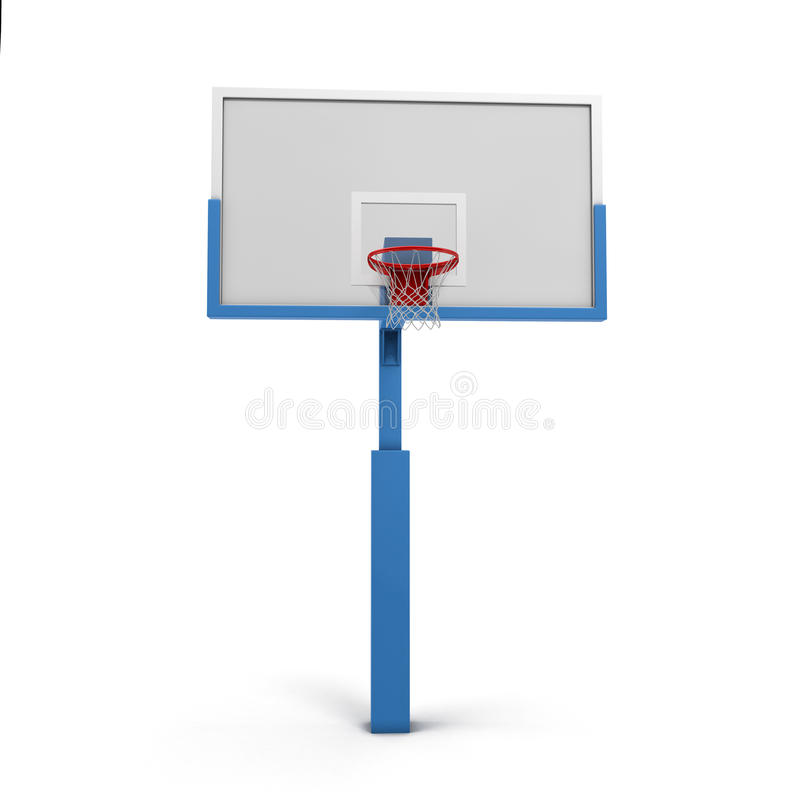 Tablero trasero de baloncesto libre illustration