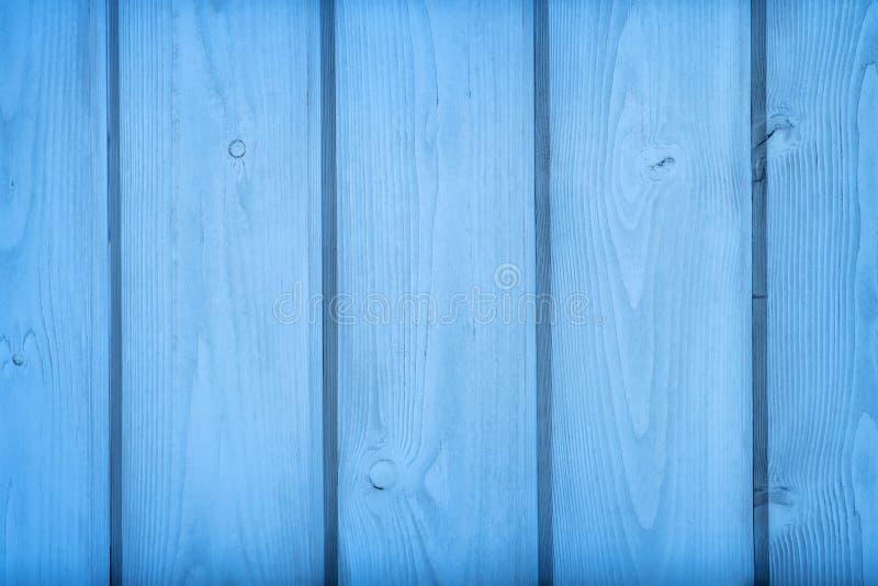 Tableros de madera azules textura y fondo fotos de archivo