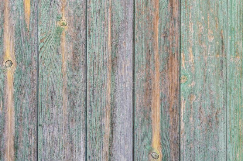 Tableros de madera del verde menta fotos de archivo libres de regalías