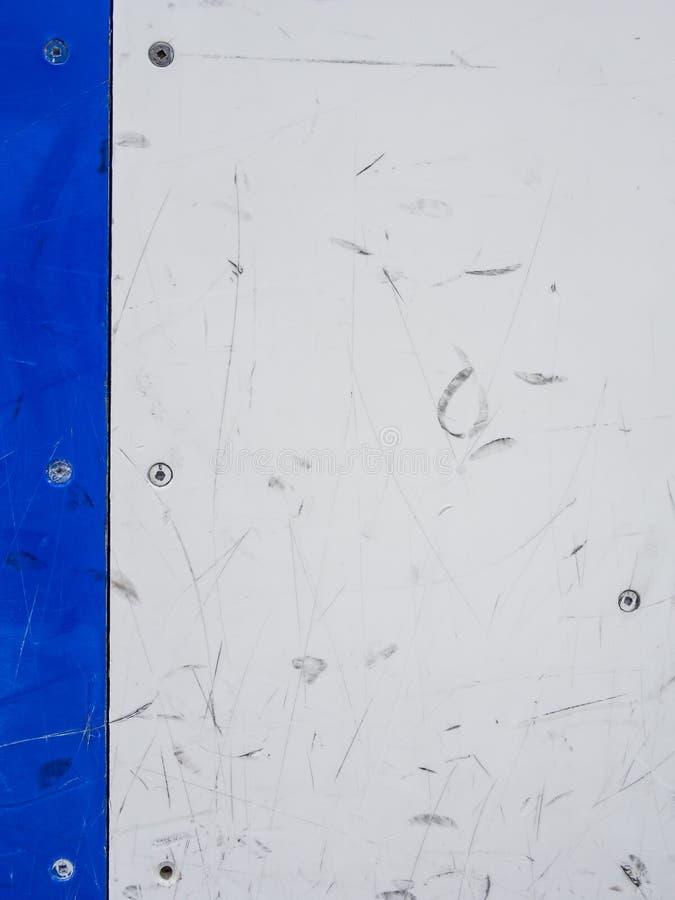 Tableros del hockey foto de archivo