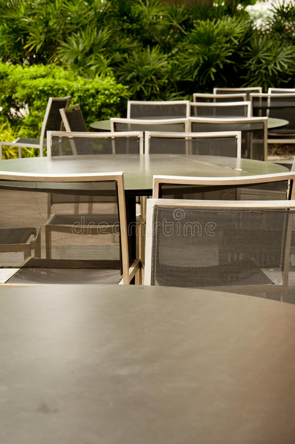 Download Tables And Chairs Royalty Free Stock Photos - Image: 12383718