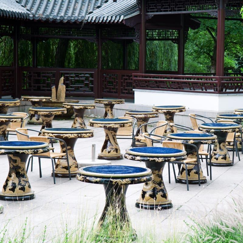 Download Tables for tea stock image. Image of homelike, dragon - 28645721