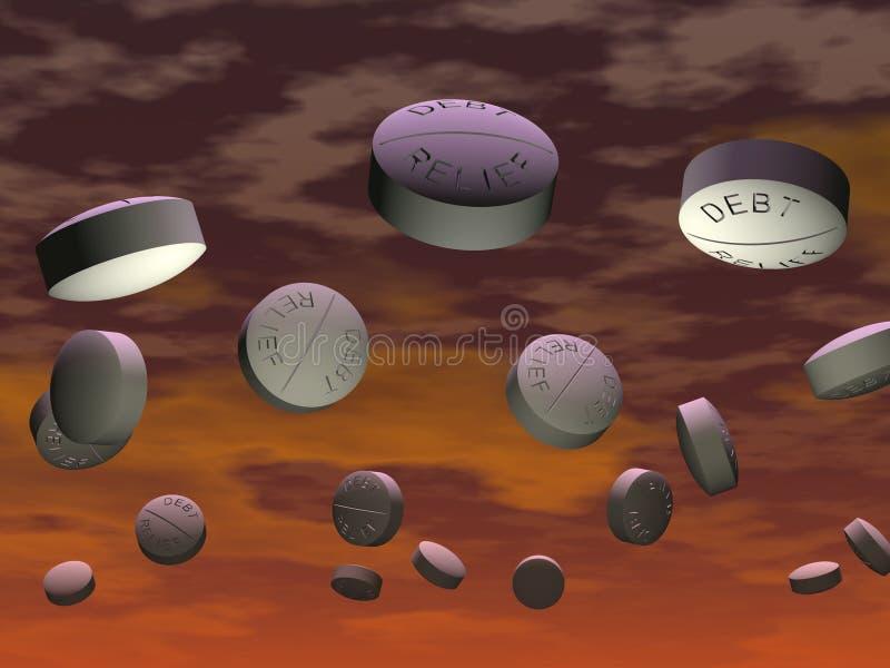 Download Tablet 2 stock illustration. Image of drug, dosage, blue - 12804597