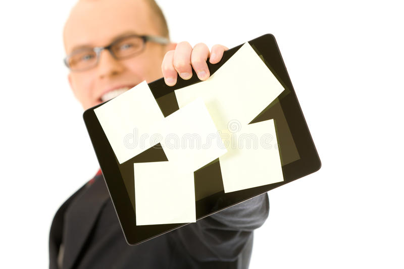 Download Tablet stock photo. Image of empty, message, concept - 25664308