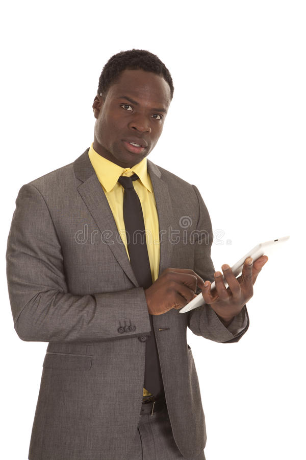 Tablet business stock images
