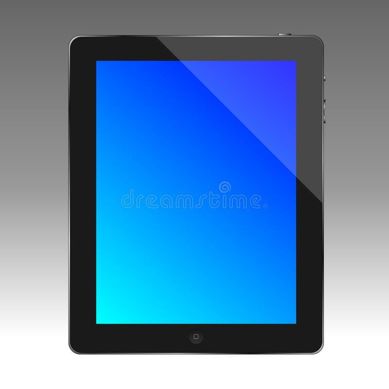 Tablet computer, apple ipad stock illustration