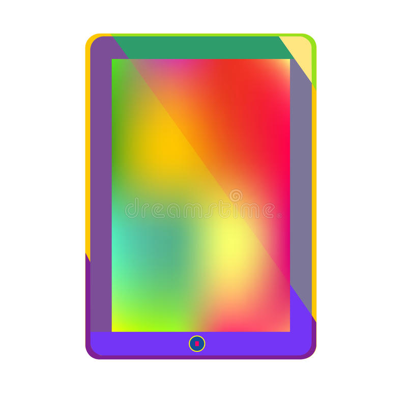 information technology gadgets tablet computer bright new technology and colorful stock 22597