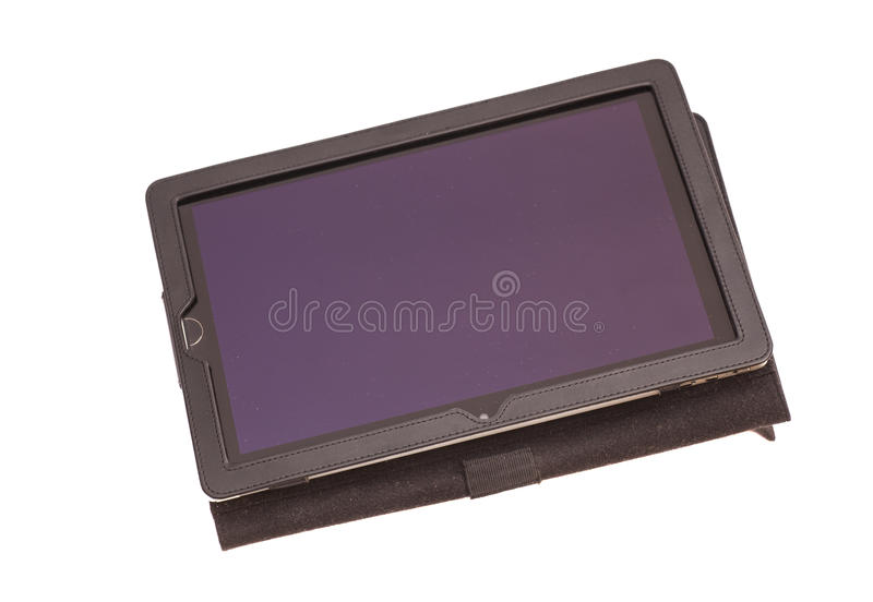 Tablet computer in cover royalty free stock images