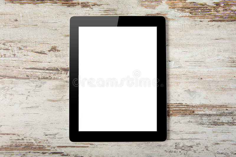 Download Tablet Computer With Isolated Screen Stock Image - Image: 26924241