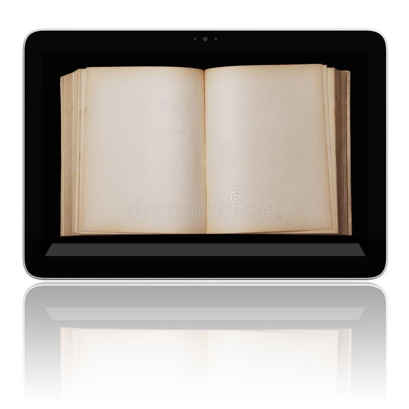 tablet för avläsare för bokdator e arkivfoton