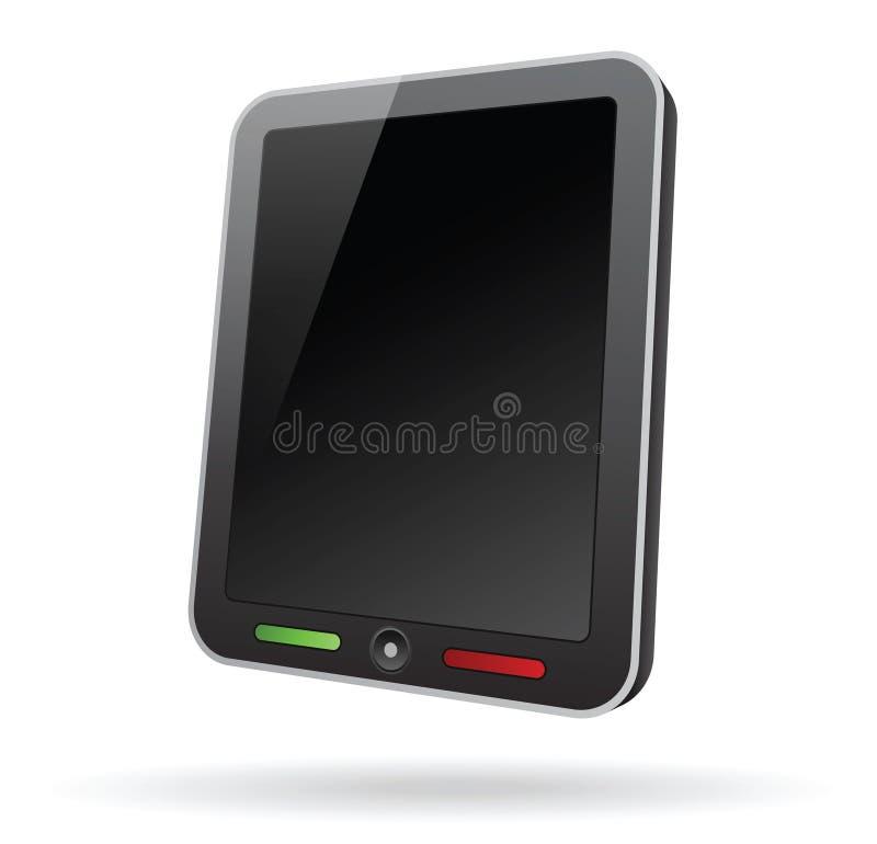 tablet för PC 3d stock illustrationer