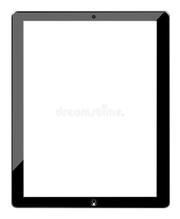 Tablet gelijkaardige ipad en ideeknoop royalty-vrije illustratie