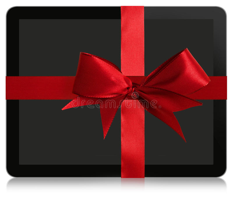 Download Tablet Gift stock photo. Image of computer, celebration - 31152628