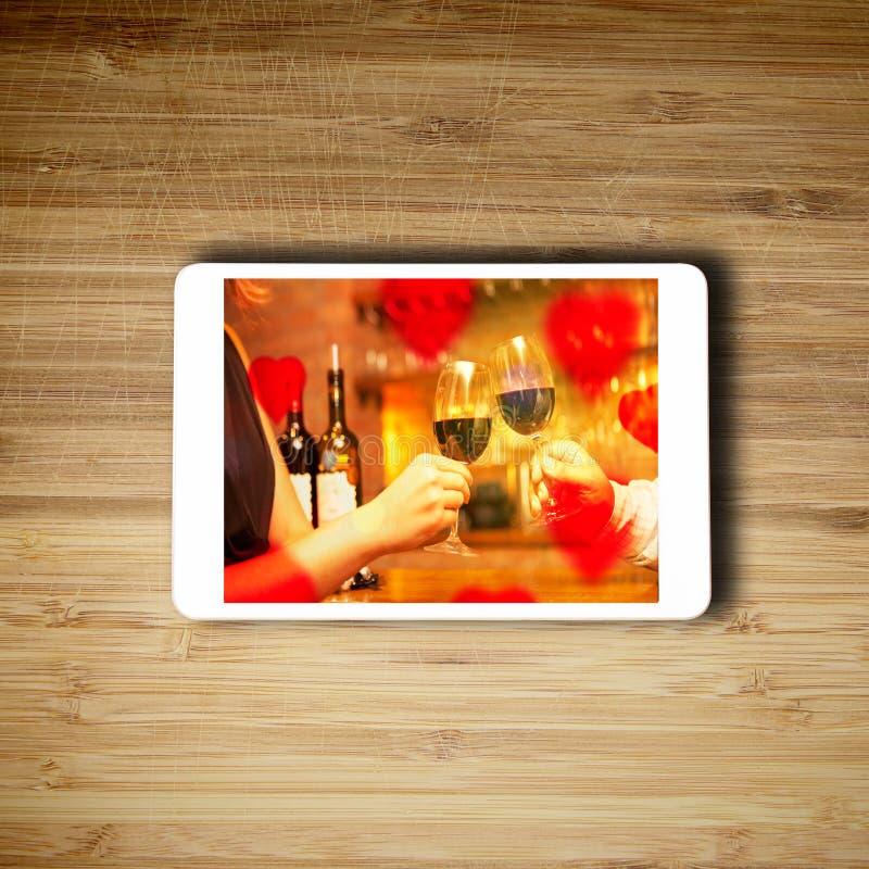 Tablet het technologieconcept stock foto