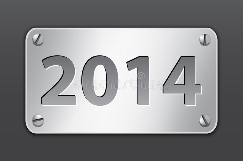 2014 tablet royalty free illustration