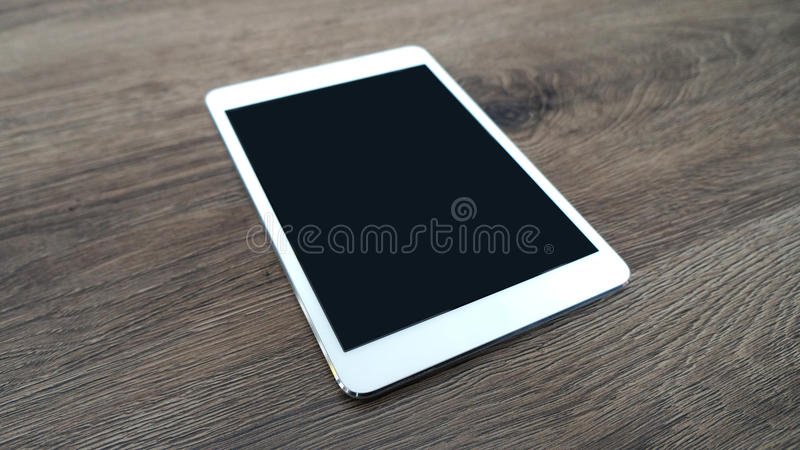 Tablet mock up stock photos
