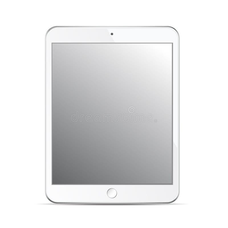 tablet mockup template isolated on white background design elem
