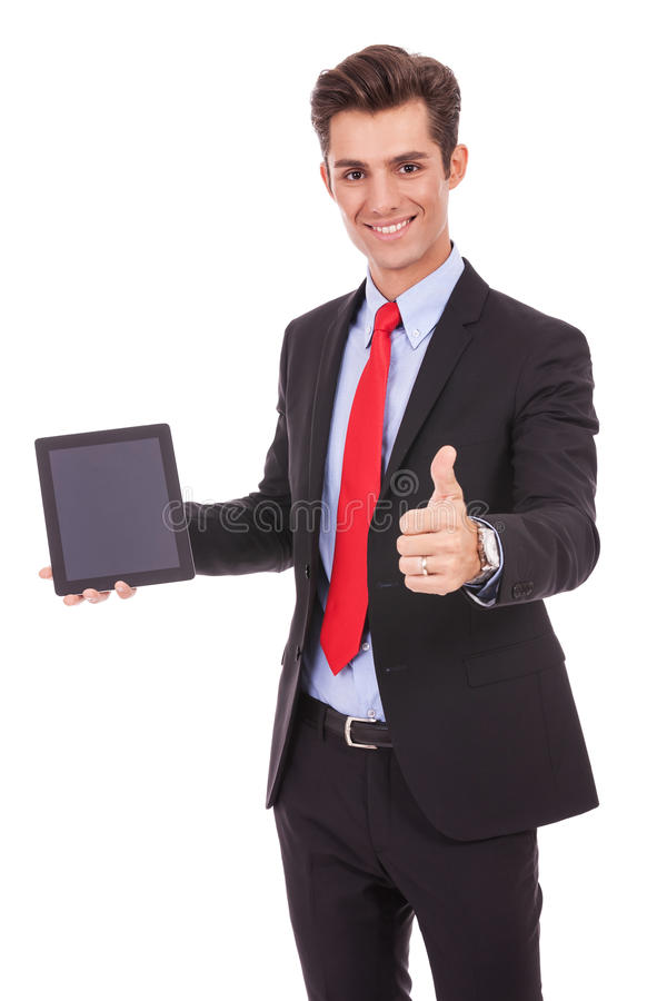 Download This Tablet Is Ok! Royalty Free Stock Image - Image: 27075606