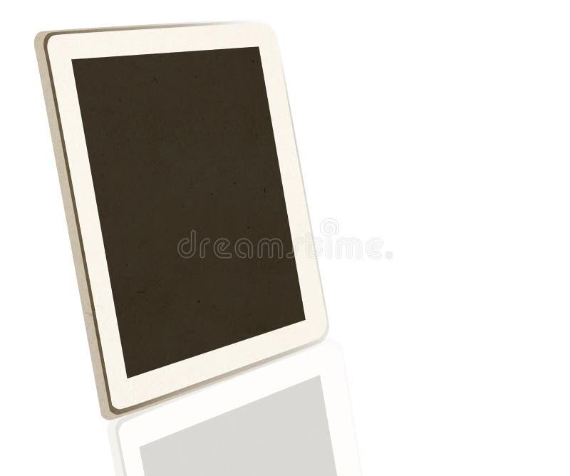 Tablet paper craft stick stock photos