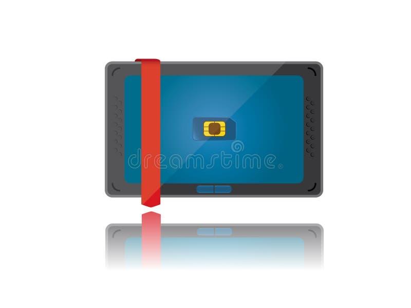 Download Tablet PC stock vector. Illustration of digital, illustration - 26483570