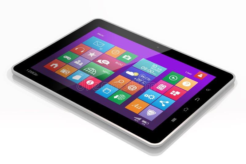 Tablet PC libre illustration