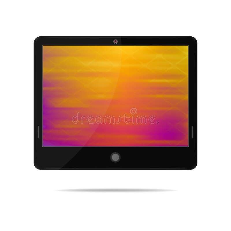Tablet pc ilustração do vetor