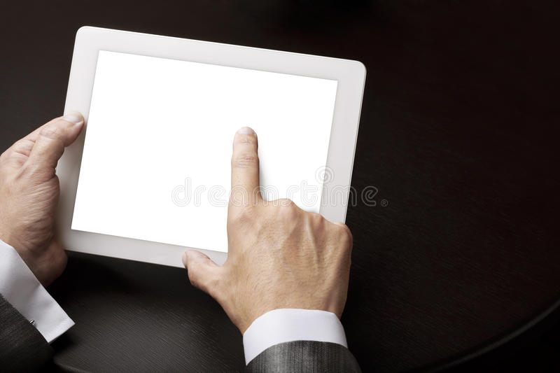 Tablet Pc Blank Stock Photo